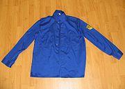 Blauhemd FDJ-Hemd GDR