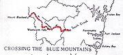 Blaxland-map