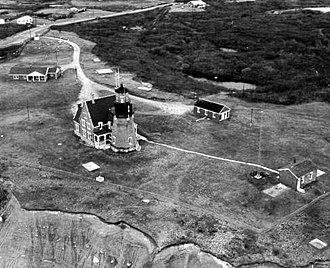 Block Island Southeast Light - Image: Block Island Southeast Light USCG