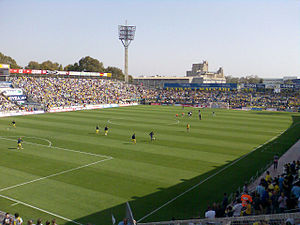 Sport in Israel - Bloomfield Stadium in Jaffa, home of Hapoel Tel Aviv, Maccabi Tel Aviv and Bnei Yehuda