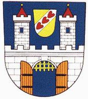 Blšany - Image: Blsany znak
