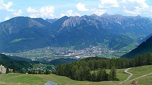 Bludenz - View from southwest