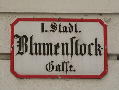 How to get to Blumenstockgasse with public transit - About the place