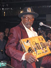 Bo Diddley w Pradze w 2005 r.
