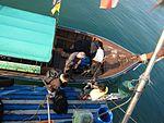 Boarding gear to the Hello Andaman (12359771753).jpg