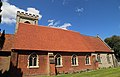 Bobbingworth, Essex, England - St Germain's Church exterior nave from the south.JPG