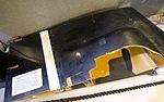 Boeing Condor vertical fin and rudder - Hiller Aviation Museum - San Carlos, California - DSC03091.jpg