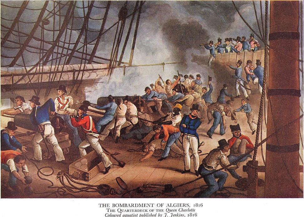 Bombardement of Algiers 1816