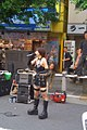 Bondage girl singing in Akihabara pedestrian zone (2005-06-19 16.46.31 by *pb*).jpg