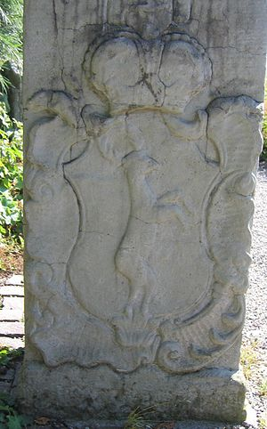 Saint Blaise Abbey, Black Forest - Boundary stone, Bonndorf (1767)