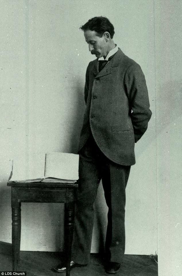Book of Mormon printer's manuscript, 1870s