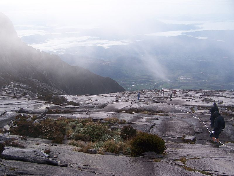 File:Borneo Mount Kinabalu Mountain Top.jpg