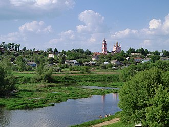 Borovsky District - Borovsk, across the Protva River