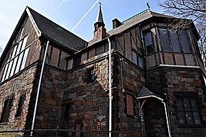 St. Mary's Episcopal Church (Dorchester, Massachusetts) - Image: Boston MA Saint Marys Episcopal Church Dorchester