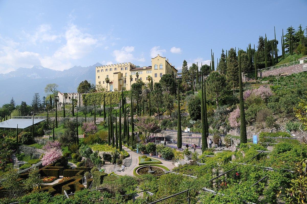 Schloss trauttmansdorff wikipedia - Garten fotos ...