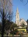 Bournemouth - Richmond Hill U.R. Church and a bright yellow bus - geograph.org.uk - 2793770.jpg