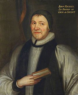 John Hacket British bishop