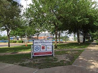Annunciation Orthodox School - John P. McGovern Park in Braeswood Place houses the school's athletic field