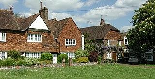 Brasted Human settlement in England
