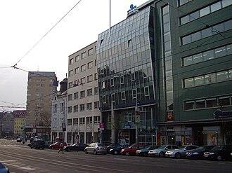 SNP Square (Bratislava) - Image: Bratislava 2007 3 28 17