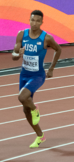 Donavan Brazier American middle-distance runner