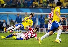 Brasil Y Croacia En El Primer Partido De La Copa Mundial
