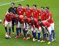 La selección de fútbol de Chile. f36857c2da568