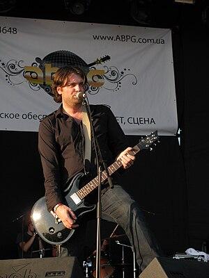 Lake of Tears - Daniel Brennare at ProRock 2009 festival