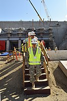 Brig. Gen. Mark Toy tours Folsom Dam project. (15563023086).jpg