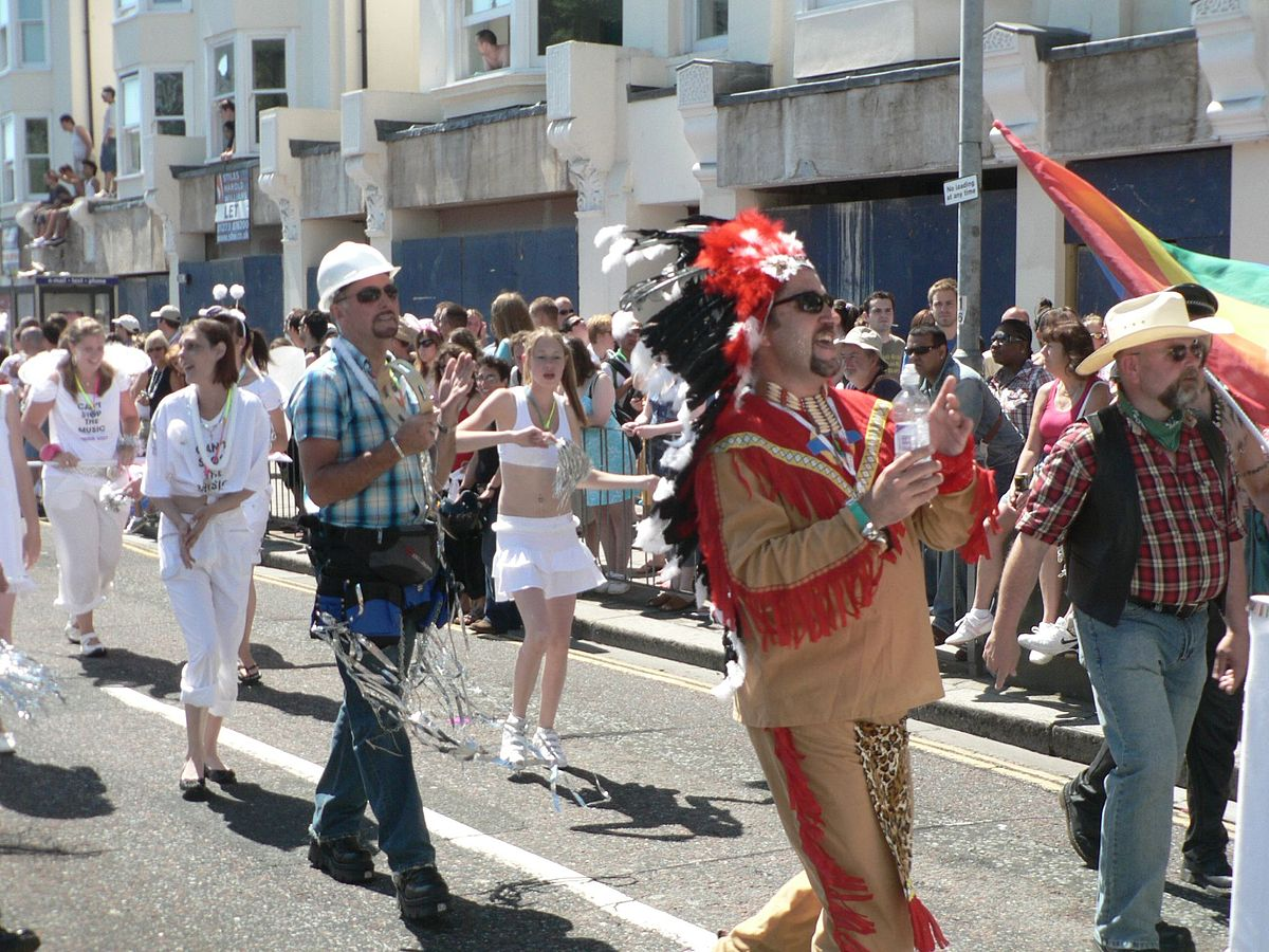 from Mathias gay pride in brighton 2008
