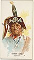 British, Ioway, from the American Indian Chiefs series (N2) for Allen & Ginter Cigarettes Brands MET DP828045.jpg