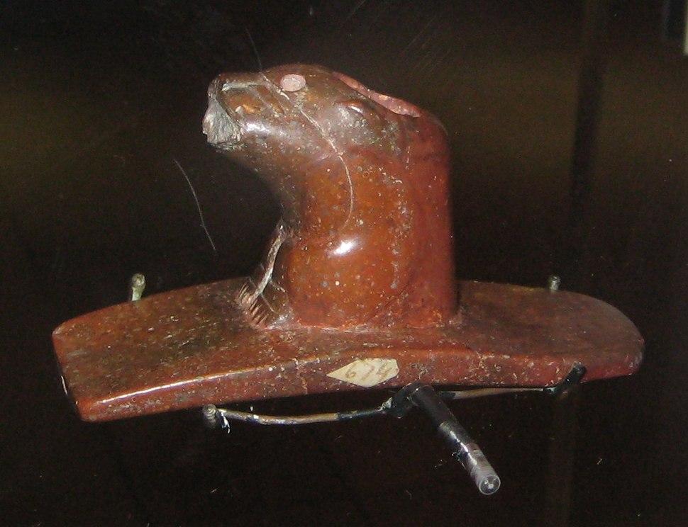British Museum otter pipe