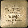 Brno Gedenkstein Emmy Wernerová.jpg