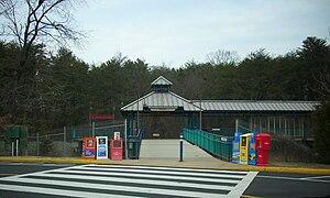 Brooke station - Image: Brooke Rail Station (Stafford VA)