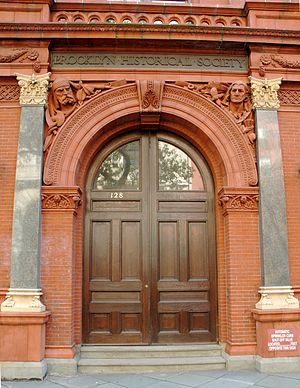Brooklyn Historical Society - Entrance in 2008