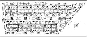 Brumleby - Plan of the area, fully developed