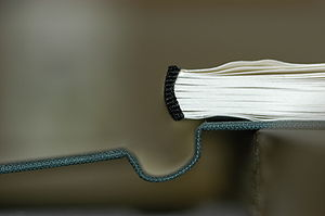 Front cover and Textblock (book binding)