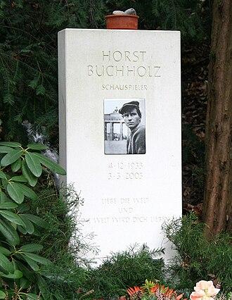 Horst Buchholz - Image: Buchholz tomb
