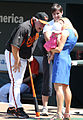 Buck Showalter and Amber Theoharis with baby Dylan Mattea.jpg
