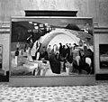 Budapest XIV. A Szépművészeti Múzeum, Csontváry Kosztka Tivadar festménye, a Mária kútja Názáretben (1908). Fortepan 104582.jpg