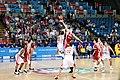 Bulgaria-Turkey Eurobasket 2009 Jump ball Kapoutsis.jpg