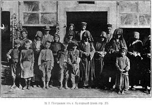Thracian Bulgarians - Bulgarian refugees from Eastern Thrace, expelled by the Ottomans, 1913.