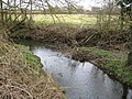 Bull Brook at its confluence with The Cut - geograph.org.uk - 1215320.jpg
