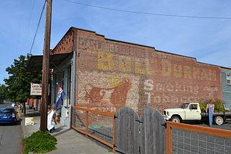 W. T. Blackwell and Company - Image: Bull Durham Smokeless Tobacco Signage (Oakland, Oregon)