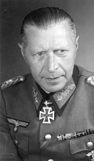 Helmuth Weidling German general, last commander of the Berlin Defence Area