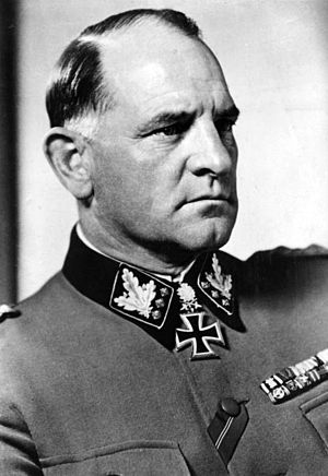 First SS-Abschnitt - Josef Dietrich, who served as the original commander of the 1st SS-Abschnitt