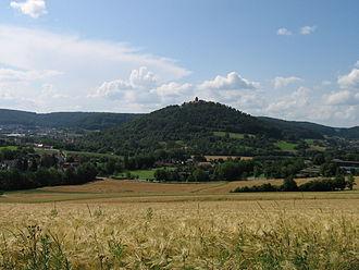 Breuberg - Burg Breuberg in the summer of 2006