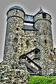 Burg Greifenstein, Doppeltürme (8511985639).jpg