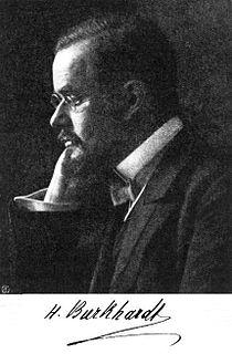 Heinrich Burkhardt German mathematician