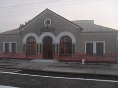 Burshtyn railway station.JPG